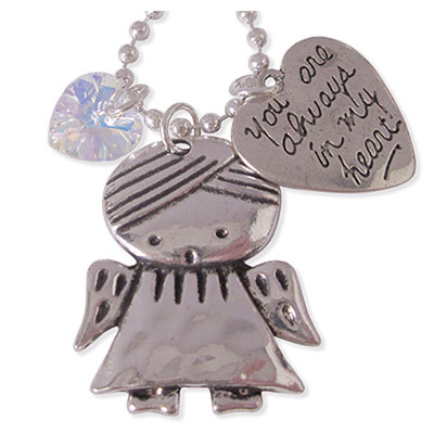 You are always in my heart sieraden voor moeder en dochter.