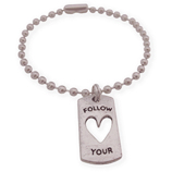 follow your heart wens armband