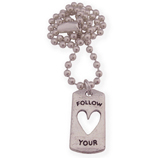 follow your heart wens ketting