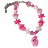 fuchsia hertje kinderketting