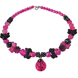 fuchsia kapoen kinderketting