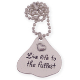live life to the fullest wens ketting