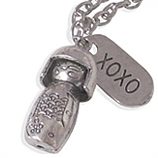 Geuisha en xoxo hanger damesketting ladies charm