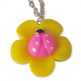 gele kapoen kinderketting ladies charm
