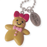 ginger meisje en best friends kinderketting ladies charm