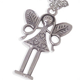 Grote fee hanger damesketting ladies charm en kinderketting