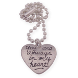 you are always in my heart wens ketting