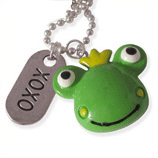 kikker en xoxo kinderketting ladies charm