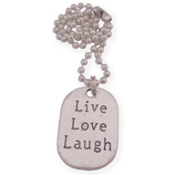 live love laugh wens ketting