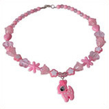 roze hertje kinderketting