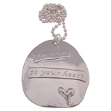 be true to your heart wens ketting